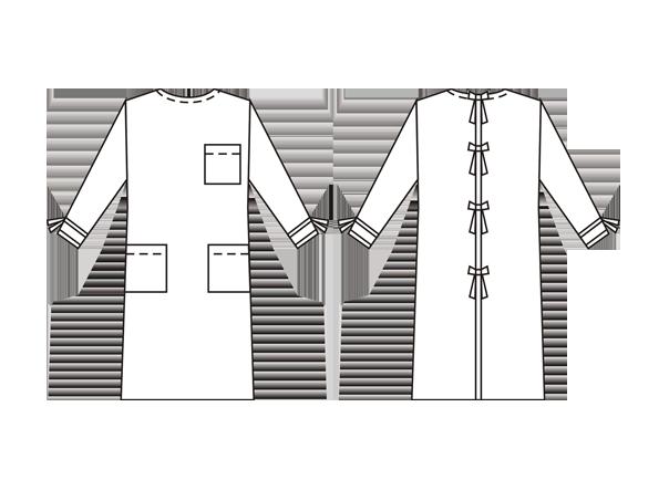 Хирургические халаты на завязках