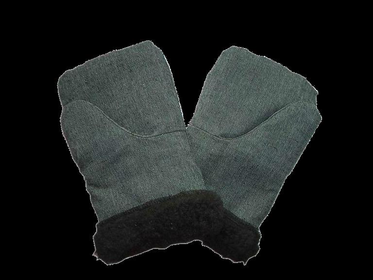 Рабочие рукавицы, утепленные мехом
